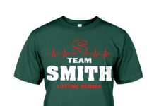 Team Smith lifetime member shirt