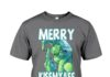 The Grinch Merry Kissmyass shirt