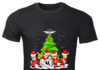 U2 Band Christmas Tree shirt