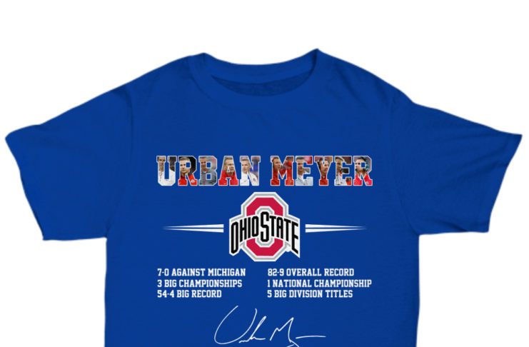 Urban Meyer Ohio State 7-0 Against Michigan 3 Big Championships shirt