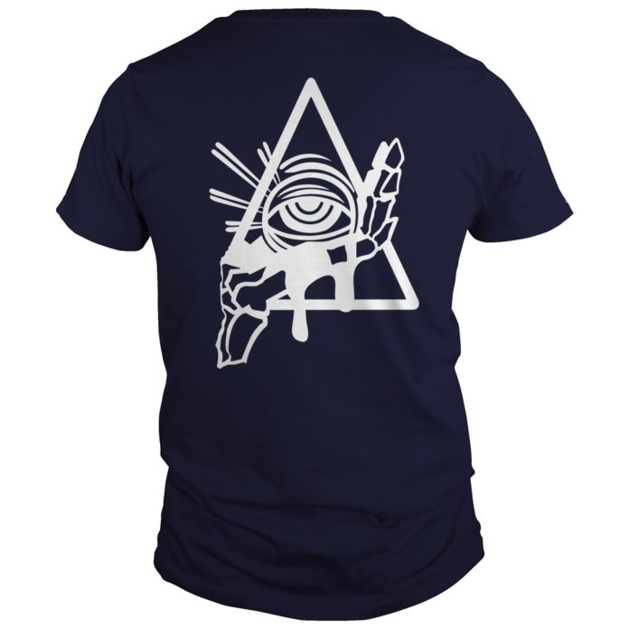 All seeing psychic circle shirt