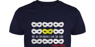 Not all Superheroes look the same huddiestrong Huddie Strong shirt