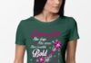 Rhinestone High Heels February Girl She slays She prays She's beautiful Bold shirt