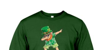 LEPRECHAUN HAWAIIAN DABBING SHENANIGATOR A PERSON WHO INSTIGATES SHENANIGANS SHIRT AND MUG