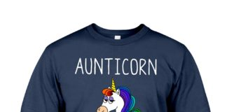 Aunticorn like a normal aunt only more awesome shirt