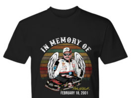 In Memory of Dale Earnhardt February 18 2001 shirt