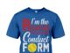Softball I'm the reason for the parent conduct form shirt