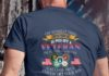 The dumbest thing you can possibly do is piss off a Veteran shirt