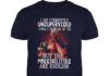 Deadpool I am currently unsupervised I know it freaks me out too shirt