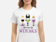 Disney Wine Glass Bottoms Up Witches shirt