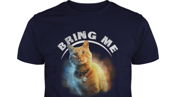 Goose cat bring me Thanos shirt
