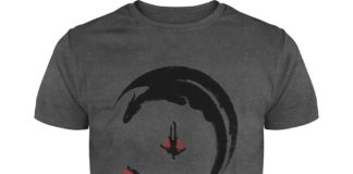 Hiccup and Toothless fly shirt