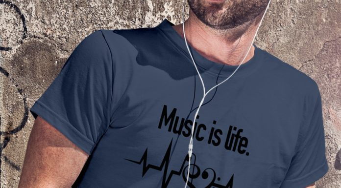 Music is Life That's Why Our Hearts Have Beats shirt