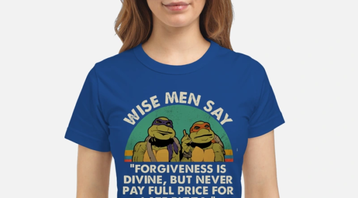 Ninja Turtles Wise Men Say Forgiveness Is Divine But Never Pay Full Price for Late Pizza