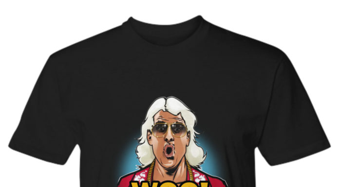 Ric Flair Woo Wu Tang shirt