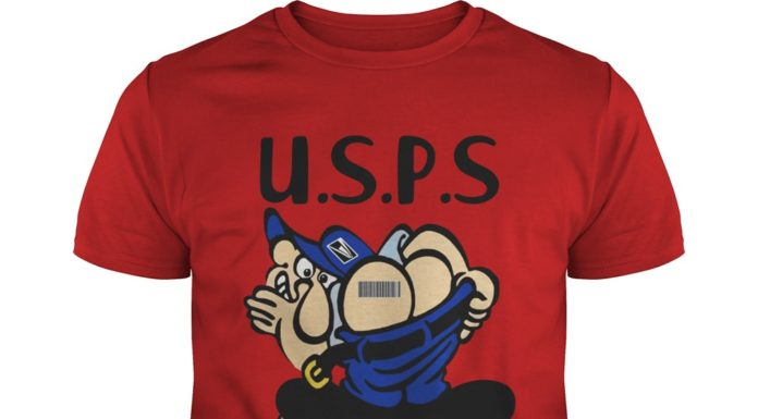 USPS Scan This shirt
