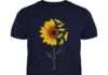 You're My Sunshine Sunflower Dinosaur T-rex shirt