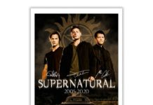 Supernatural 15 Seasons 327 Episodes Always Keep Fighting Signature Poster