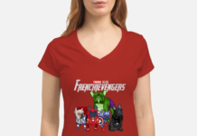 Frenchievengers French Bulldog Avengers Endgame shirt