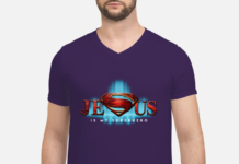 Jesus is my Superhero shirt