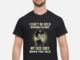 Maleficent Chibi I Can't Be Held Responsible For What My Face Does When You Talk shirt