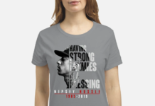 Nipsey Hussle 1985 2019 Having Strong Enemies Is A Blessing shirt