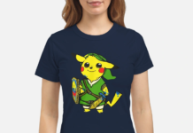 Pikachu Link The Legend of Zelda