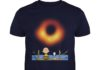 Snoopy and Charlie Lake Watching Black Hole 2019 shirt