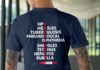 Vaccinate HPV Measles Tuberculosis Pneumococcal shirt