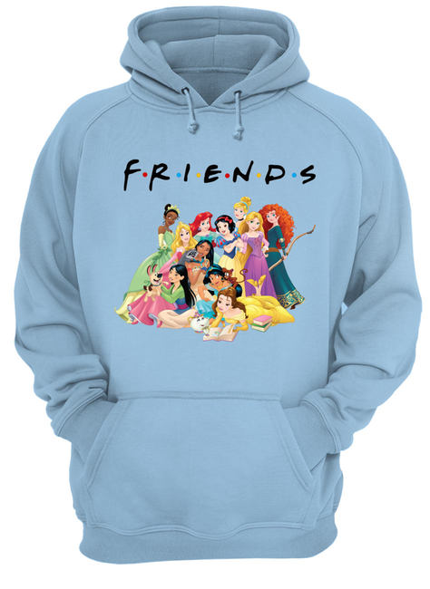 Disney princess movie friends tv show shirt