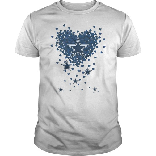 Flying heart stock dallas cowboys shirt