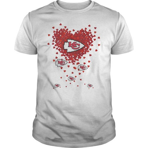 Flying heart stock kansas city chiefs shirt