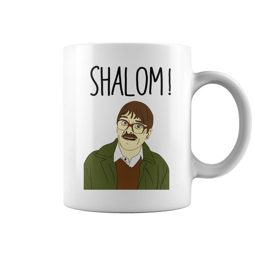 Friday night dinner shalom mug