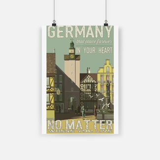 Germany that place forever in your heart poster