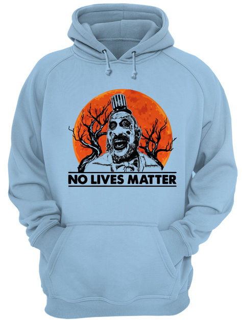 Halloween captain spaulding no lives matter shirt