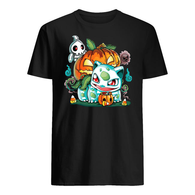 Halloween pumpkin bulbasaur shirt