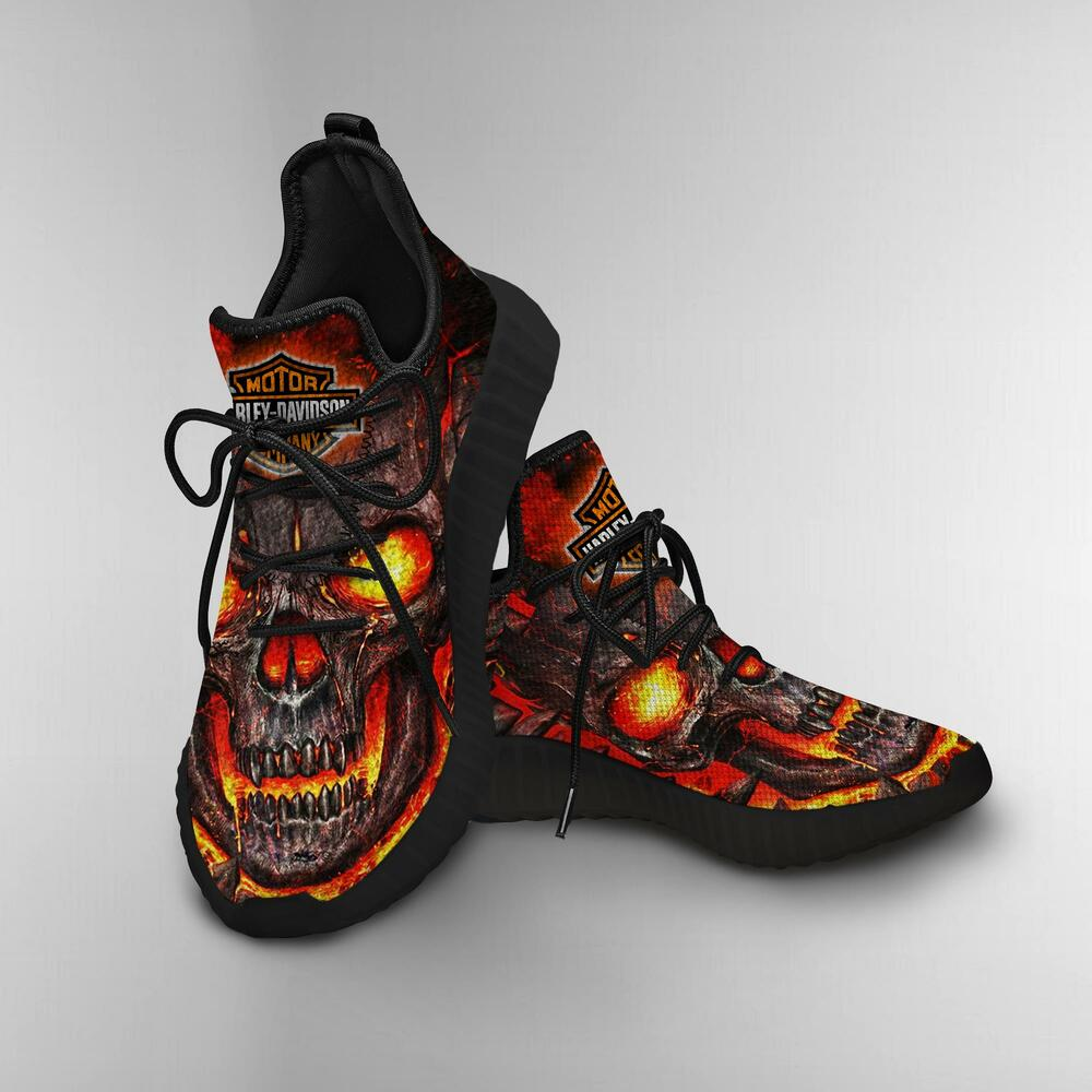 Harley davidson skull shoes