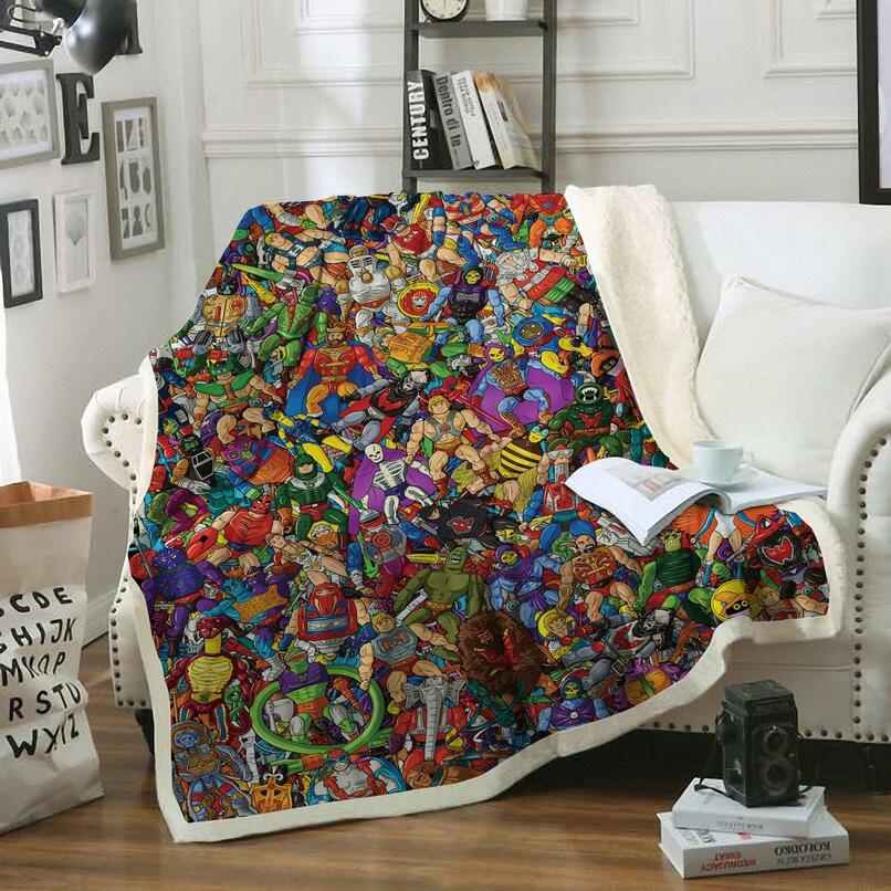 He-Man blanket and bedding set