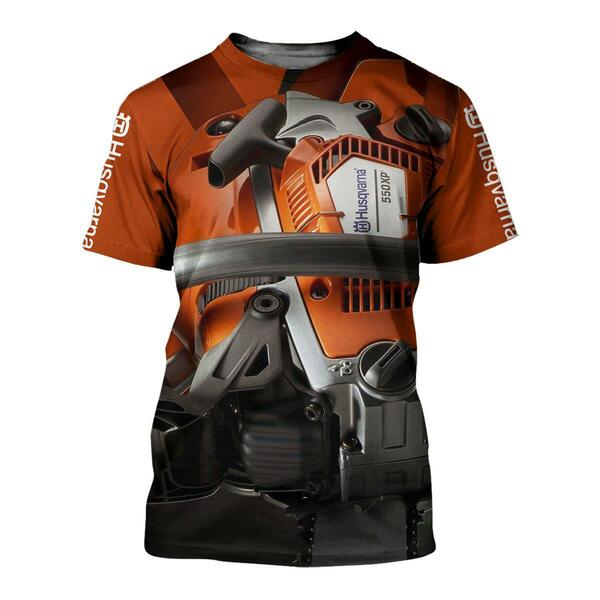 Husqvarna chainsaw 3d all-over