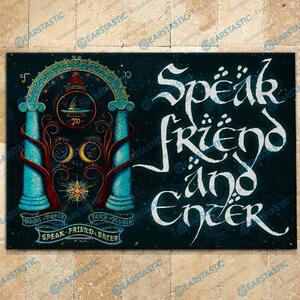 LOTR speak friend and enter doormat