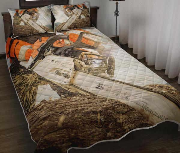 Logger chaisawn bedding set