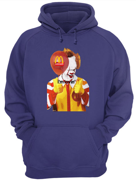Mcdonald's I'm lovin' it pennywise shirt
