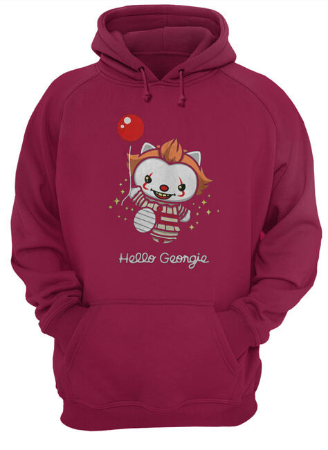Pennywise kitty cat hello georgie shirt