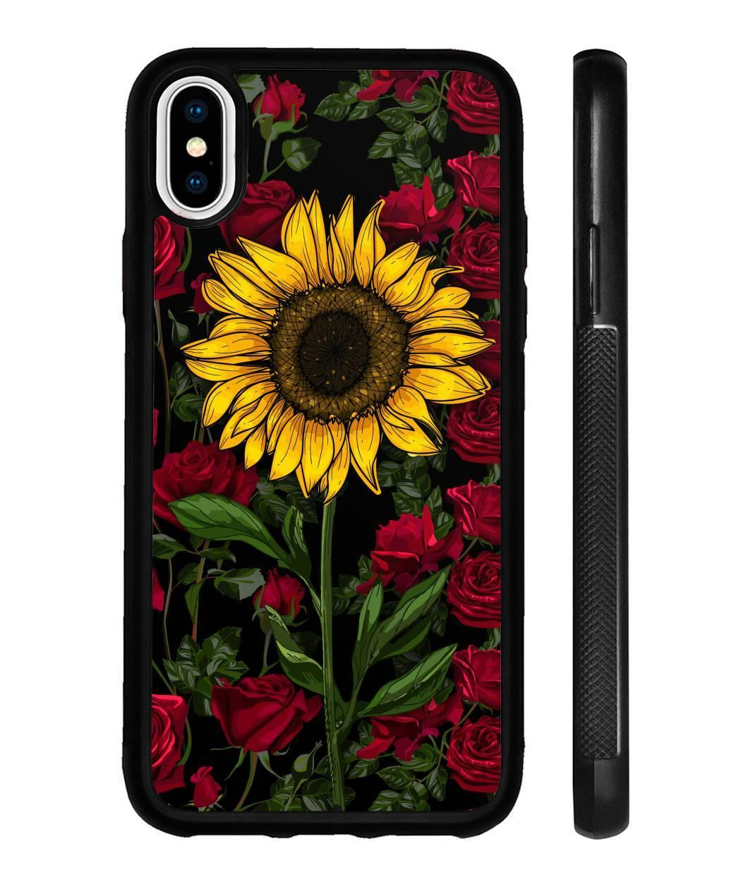 Rose sunflower phone case