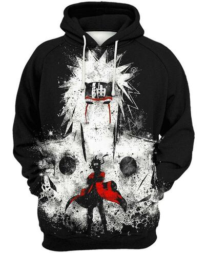 The seventh hokage naruto 3d hoodie
