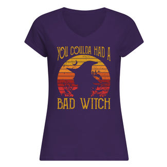 Vintage you coulda had a bad witch shirt