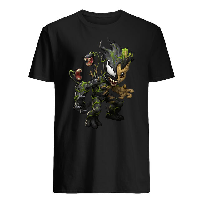 Baby groot and venom shirt
