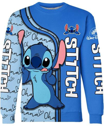 Disney lilo and stitch 3d hoodie