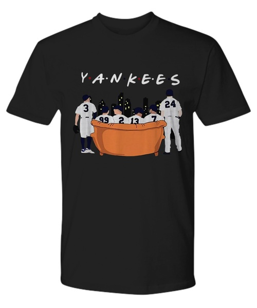 Friends tv show new york yankees shirt