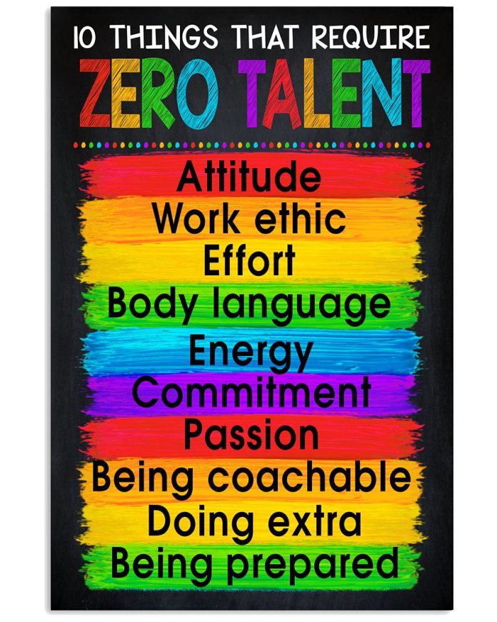 10-Things-That-Require-Zero-Talent-Poster